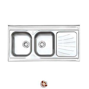 سینک آشپزخانه استیل البرز 60-214