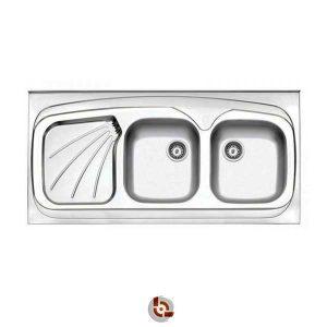 سینک آشپزخانه استیل البرز 60-270