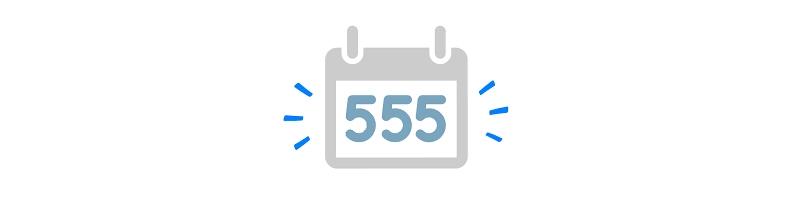 گارانتی ۵۵۵ روزه