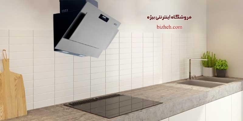 هود مشکی آشپزخانه آروما d-1020