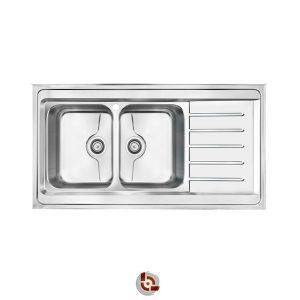 سینک آشپزخانه کن 9072p