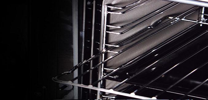 طبقه تلسکوپی فر آشپزخانه