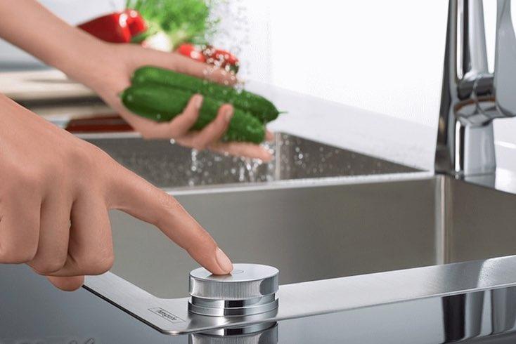 سیفون اتوماتیک سینک ظرفشویی آشپزخانه