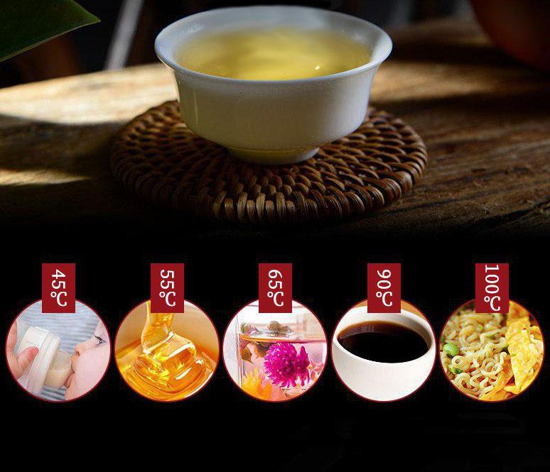 اسفاده دماهای مختلف چای ساز