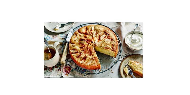 کیک سیب در فر اخوان f21