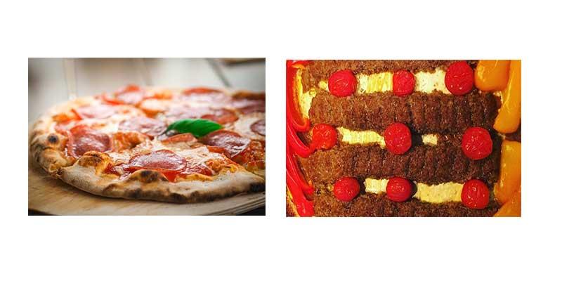 غذاها در فر اخوان f21